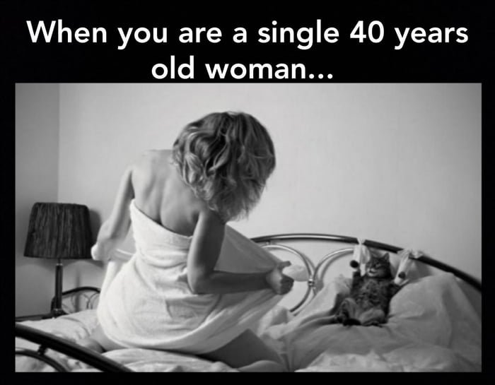 Old single 40 woman year The Best